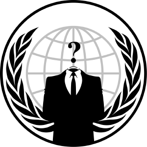 Was it Anonymous?  Probably not but...