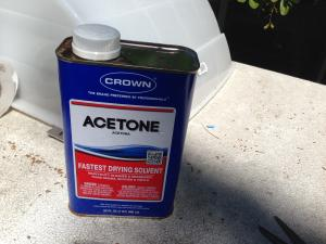Acetone - A good Cleaner