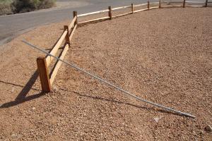 Dragged Pole