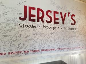 Jersey Cafe Signature Board